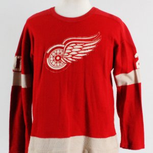 1950's Detroit Red Wings Game-Worn Jersey #20