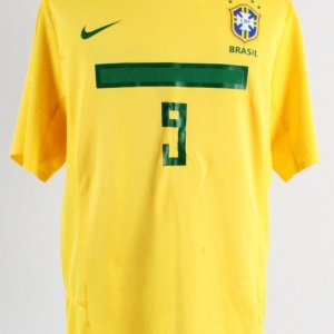 2011 Ronaldo Game-Worn Jersey Brazil National Team