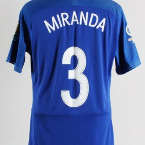 Miranda Game-Worn Jersey Brazil National Team