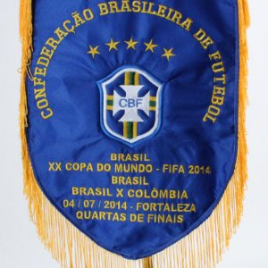World Cup Pennant FIFA Copa Do Mundo Brasil vs. Columbia
