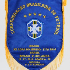 World Cup Pennant FIFA Copa Do Mundo Brasil vs. Netherlands