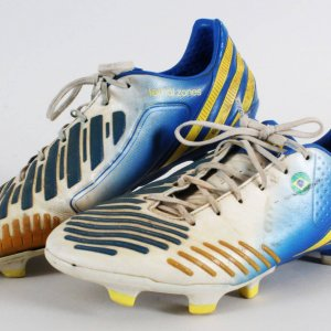 Giuliano Game-Worn Cleats Brazil National Soccer Team