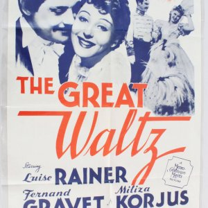 1962 The Great Waltz Movie Poster One Sheet R 62/201