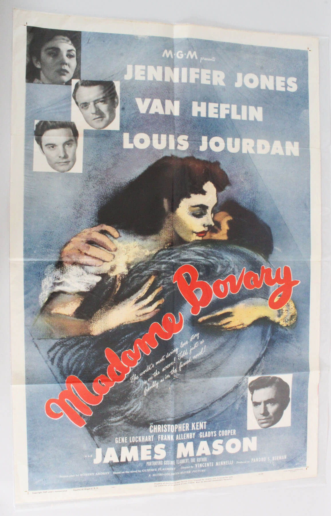 1949 Madame Bovary Movie Poster One Sheet 49/393
