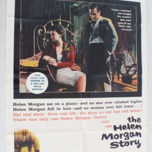 The Helen Morgan Story Movie Poster One Sheet 57/519