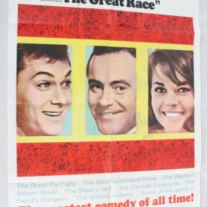 1965 The Great Race Movie Poster One Sheet 65/231