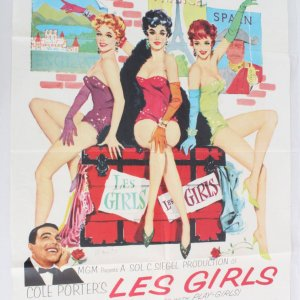 1957 Les Girls Movie Poster One Sheet 57/542