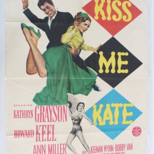 Kiss Me Kate Movie Poster One Sheet
