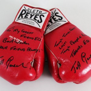 Jeff Fenech Fight-Used, Signed Boxing Gloves - COA JSA