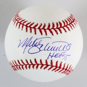 Mike Schmidt Signed Baseball Phillies - COA JSA