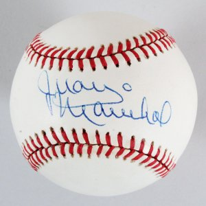 Juan Marichal Signed Baseball Giants - COA
