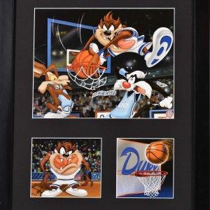 Duke  Warner Bros. Basketball Framed Litho