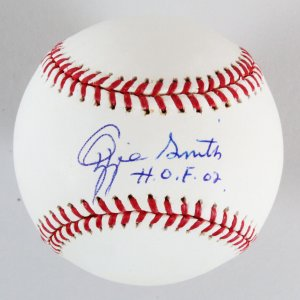 Ozzie Smith Signed Baseball Cardinals - COA PSA/DNA