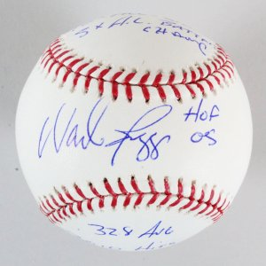 Wade Boggs Signed Baseball Red Sox - COA JSA