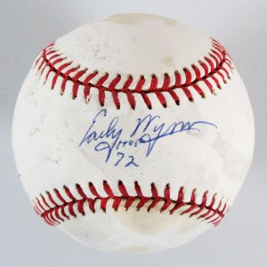 Early Wynn Signed Baseball Indians - COA
