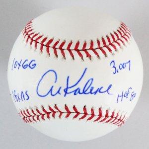Al Kaline Signed Baseball Tigers - COA