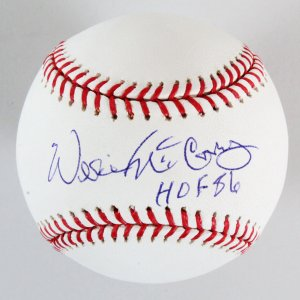 Willie McCovey Signed Baseball Giants - COA PSA/DNA