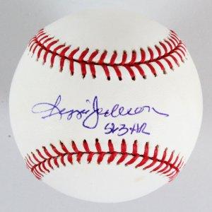 Reggie Jackson Signed Baseball Yankees - COA JSA