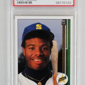 1989 Upper Deck Ken Griffey Jr Graded RC Card - PSA 10