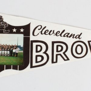 1964 Cleveland Browns Photo Pennant
