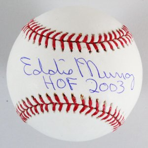 Eddie Murray Signed Baseball Orioles - COA PSA/DNA