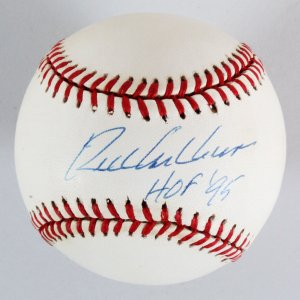 Richie Ashburn Signed Baseball Phillies - COA PSA/DNA