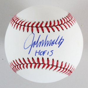 John Smoltz Signed Baseball Braves - COA PSA/DNA