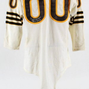 1961 Jim Otto Game-Worn Jersey Oakland Raiders Signed