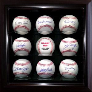Big Red Machine Starting 8 Signed Balls in Case