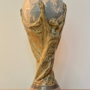 1978 FIFA World Cup Argentina Trophy.  Lladro.  Official FIFA Commission.