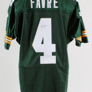 Brett Favre Signed Jersey Packers - COA JSA