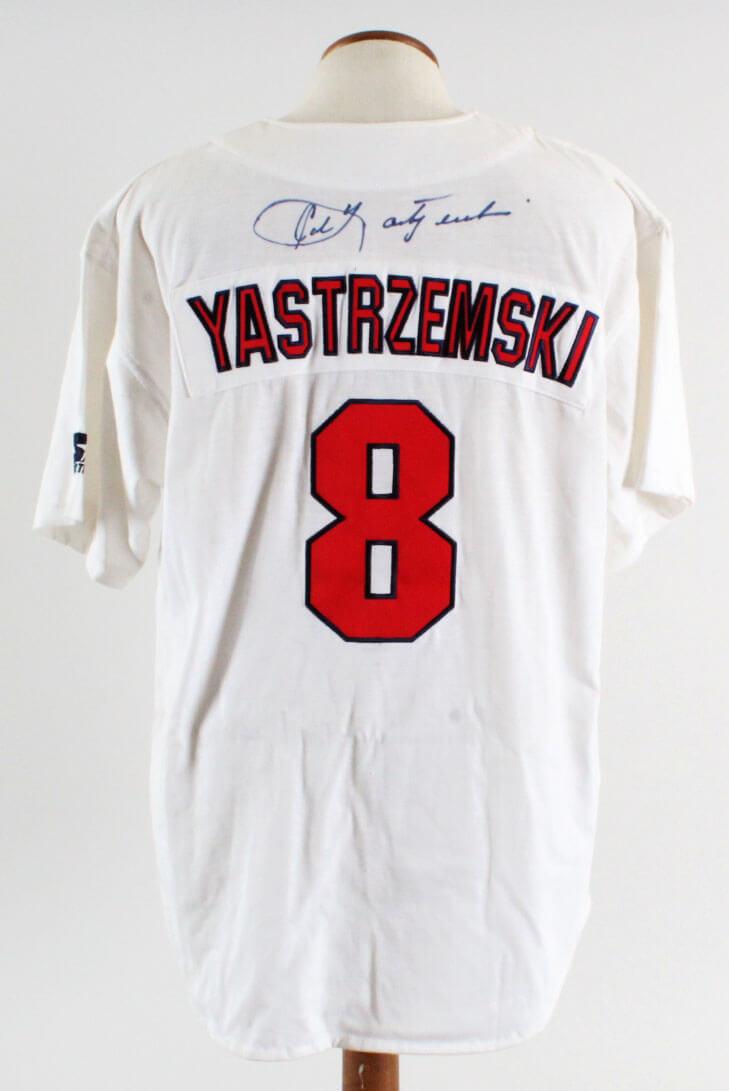 Carl Yastrzemski Signed Jersey Red Sox - COA JSA 494f5daee47