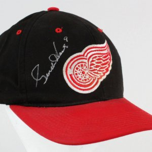 Gordie Howe Signed Hat Red Wings - COA JSA