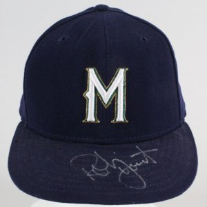 Robin Yount Signed Hat Brewers - COA JSA