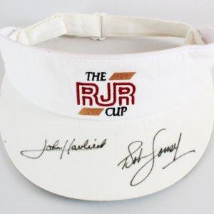 John Havlicek Signed Hat w/Bob Cousy Celtics - COA JSA