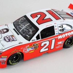 Trevor Bayne Signed Die-Cast Car NASCAR - COA JSA