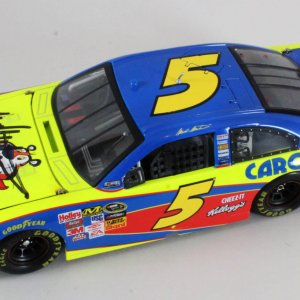 Mark Martin Signed Die-Cast Car NASCAR - COA JSA
