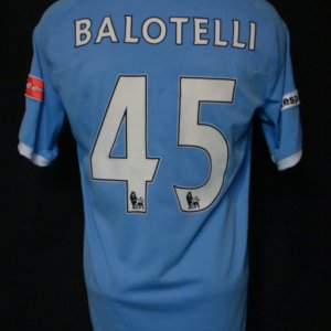 2011 Mario Balotelli Game-Worn Jersey Manchester City