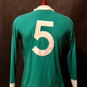 A Franz Beckenbauer Game-Used #5 West Germany Away Shirt.  Circa 1970's.