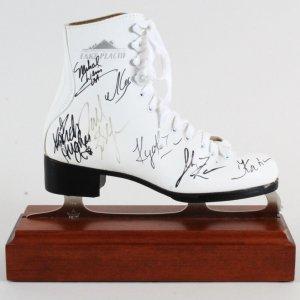 2004-05 Alexei Yagudin Signed Ice Skate w/6 Others - COA JSA