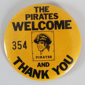 Pittsburgh Pirates Employee Pin