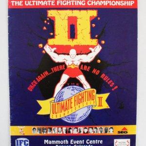 UFC 2 Official Program -Big John McCarthy Collection