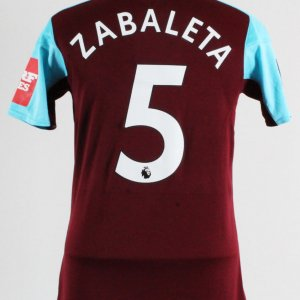 2017-18 Pablo Zabaleta Game-Worn Jersey West Ham United F.C.