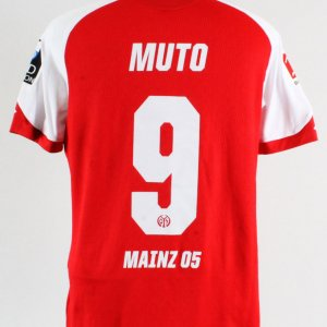 2017-18 Yoshinori Mutō Game-Worn Jersey FSV Mainz 05