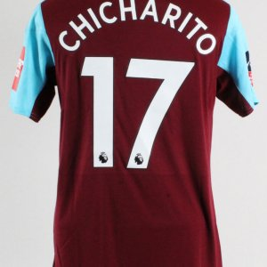 "2017-18 Javier Hernandez ""Chicharito"" Game-Worn Jersey West Ham United F.C."