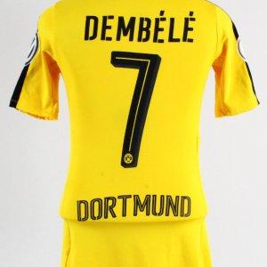 2016-17 Ousmane Dembele Game-Worn Jersey Borussia Dortmund