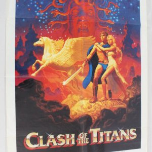 1981 Clash of the Titans Movie Poster One Sheet 810001