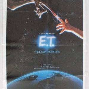 1982 E.T. The Extra Terrestrial Movie Poster One Sheet 820073