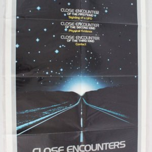 1977 Close Encounters Of The Third Kind Movie Poster One Sheet 770181