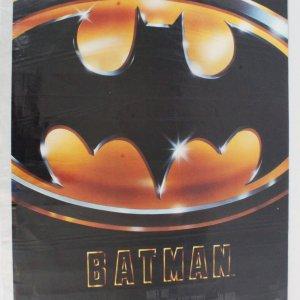1989 Batman Movie Poster One Sheet
